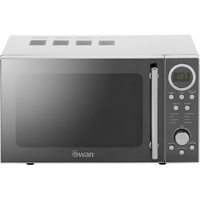 Swan SM3080N 20 Litre Microwave - Silver Best Price, Cheapest Prices