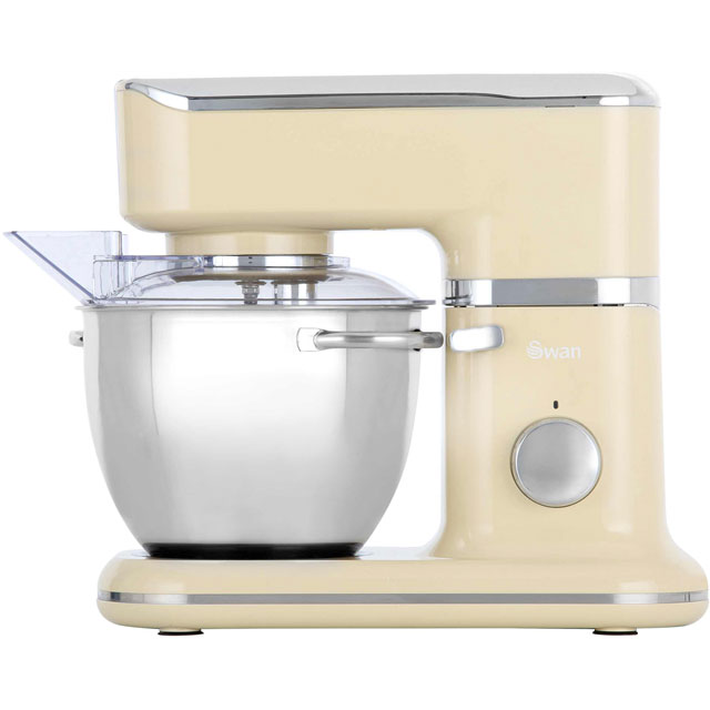 Swan Retro SP21010CN Stand Mixer With 4.5 Litre Bowl - Cream