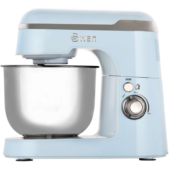 Swan Retro SP25010BLN Stand Mixer with 4.2 Litre Bowl - Blue