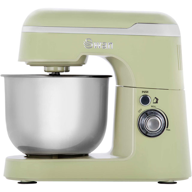 Swan Retro SP25010GN Stand Mixer with 4.2 Litre Bowl - Green - SP25010GN_GR - 1