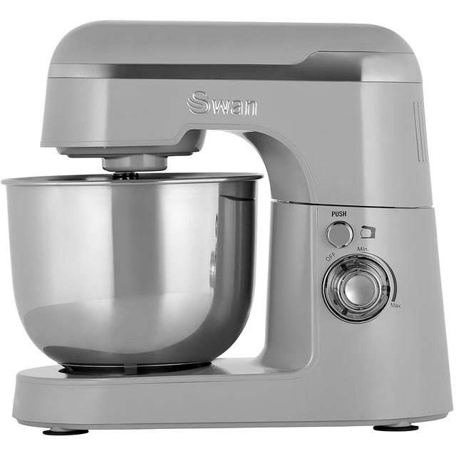 Swan Retro Stand Mixer with 4.2 Litre Bowl - Grey