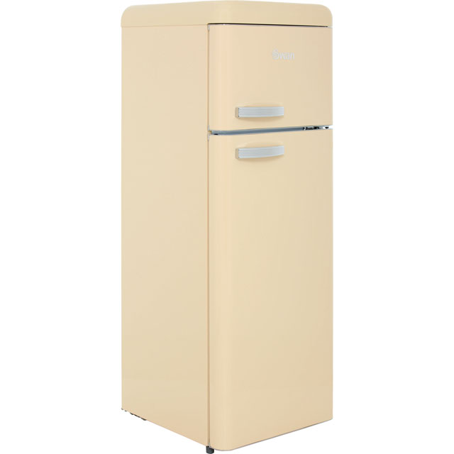 Swan Retro SR11010CN 80/20 Fridge Freezer - Cream - A+ Rated Best Price, Cheapest Prices