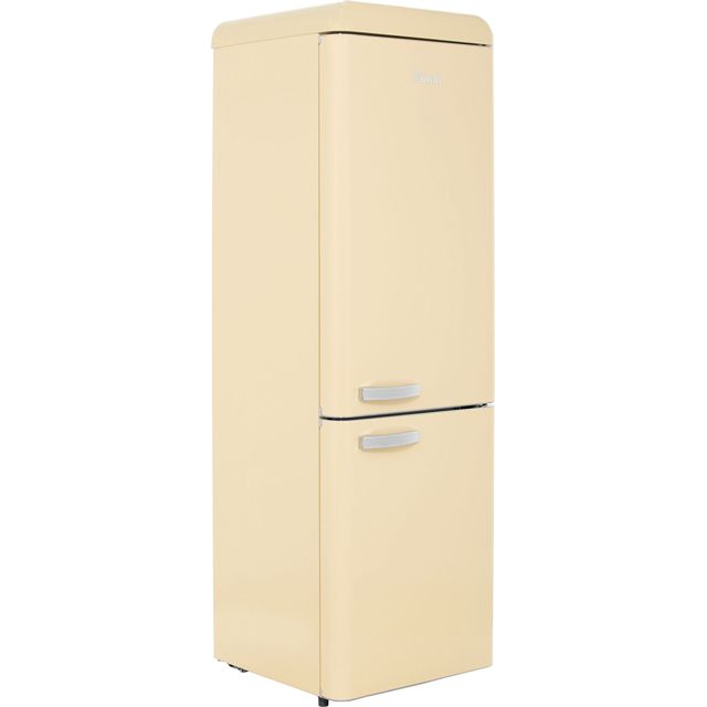 Swan Retro SR11020CN 70/30 Fridge Freezer - Cream - A+ Rated - SR11020CN_CR - 1