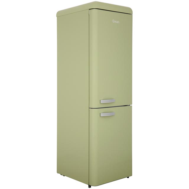 Swan SR11020FGN 70/30 Frost Free Fridge Freezer - Green - A++ Rated - SR11020FGN_GR - 1