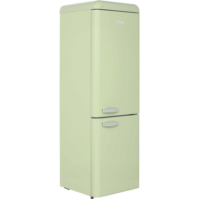 Swan Retro SR11020GN 70/30 Fridge Freezer - Green - A+ Rated - SR11020GN_GR - 1