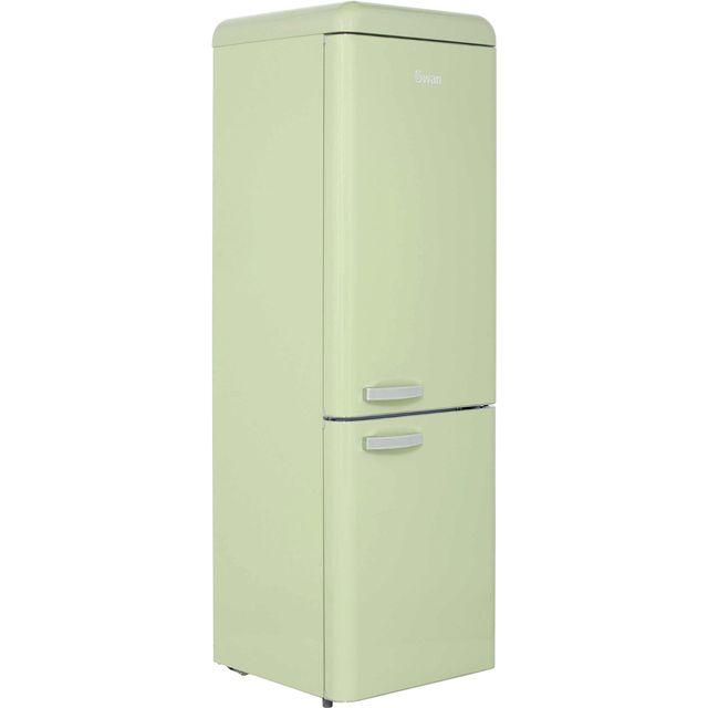 Swan Retro Sr11020gn 70 30 Fridge Freezer Green