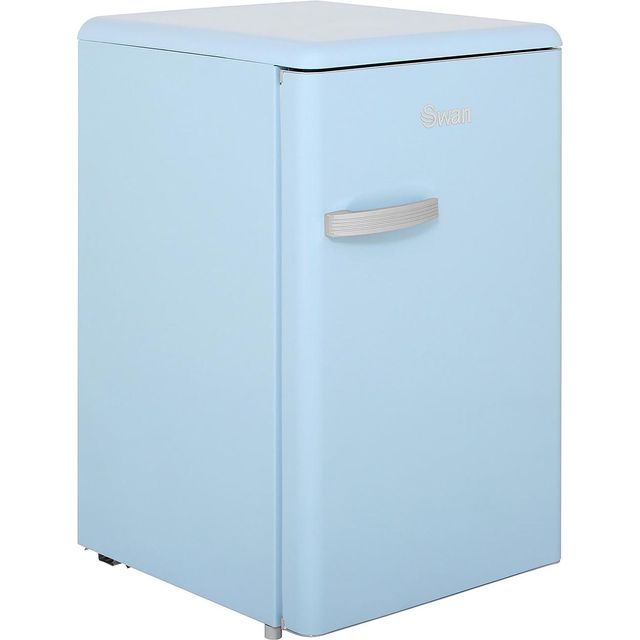 Swan Retro SR11030BLN Fridge - Blue - A+ Rated - SR11030BLN_BL - 1