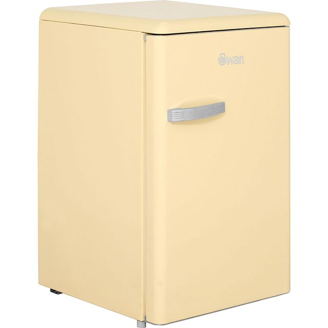 Swan Retro SR11030CN Fridge - Cream - A+ Rated