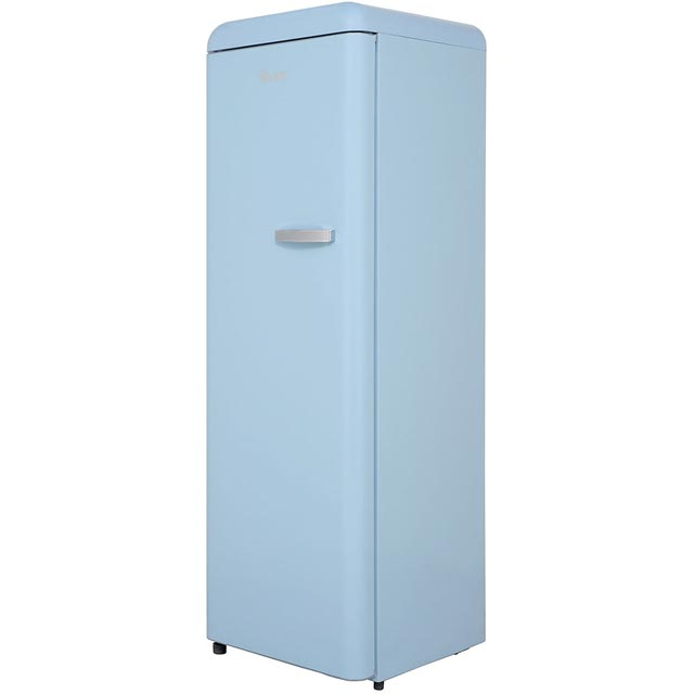Swan Upright Freezer - Blue - A+ Rated