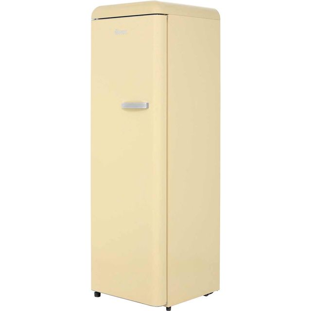 Swan SR11040CN Upright Freezer - Cream - A+ Rated - SR11040CN_CR - 1