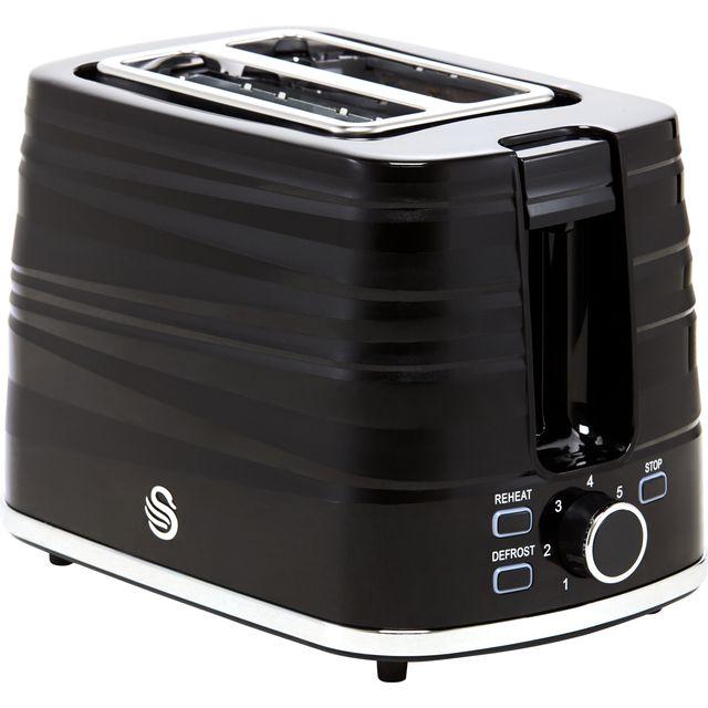 Swan Symphony ST31050BN 2 Slice Toaster - Black