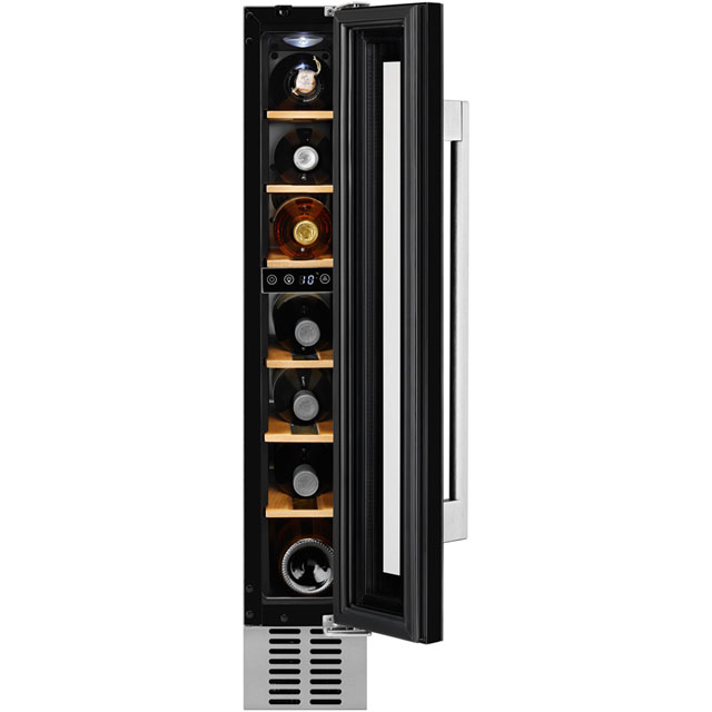 AEG SWE61501DG Built In Wine Cooler - Black Glass - A Rated