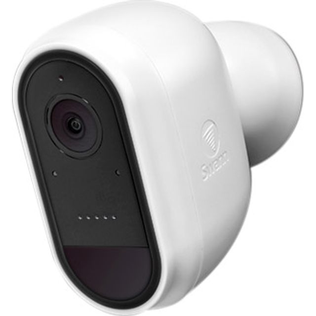 Swann Wire-free Security Camera Full HD 1080p - Black / White