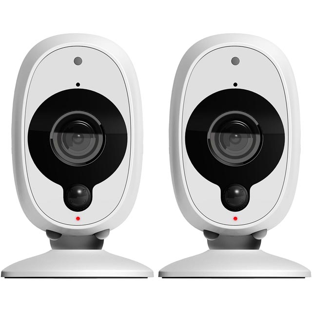 Swann Smart Security Camera (2 Pack) - White - SWWHD-INTCAM2PK-UK - 1