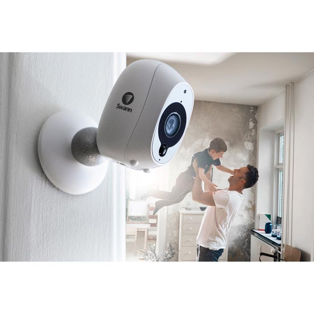 Swann Smart Security Camera (2 Pack) - White