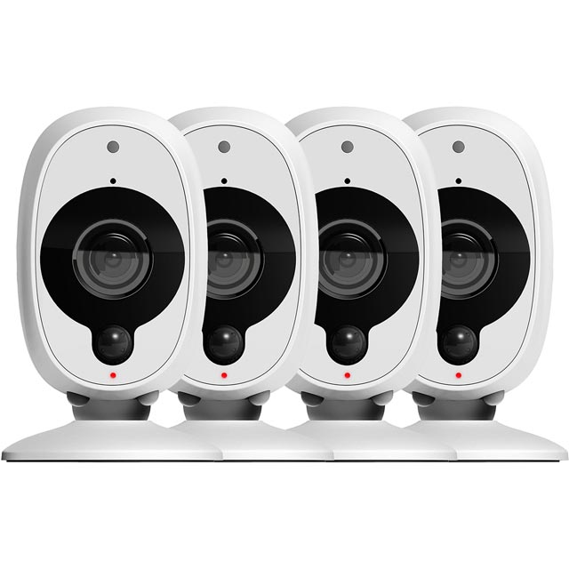 Swann Smart Security Camera (4 Pack) - White - SWWHD-INTCM1STPK4-UK - 1