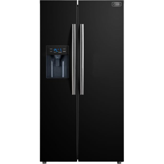 Stoves SXS905 American Fridge Freezer - Black - A+ Rated