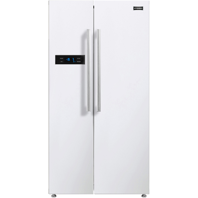 Stoves SXS909 American Fridge Freezer - White - A+ Rated - SXS909_WH - 1
