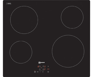 NEFF N50 T10B40X2 Built In Ceramic Hob - Black - T10B40X2_BK - 1