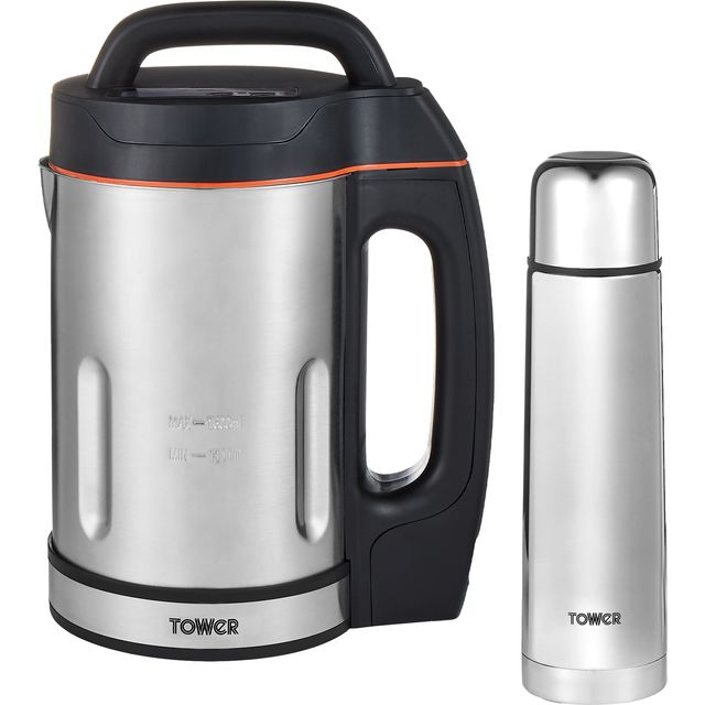 Tower T12055BF 1.6 Litre Soup Maker - Stainless Steel