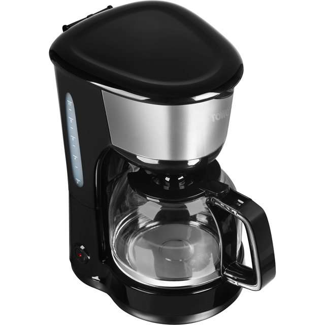 Tower T13001 Filter Coffee Machine - Black - T13001_BK - 1