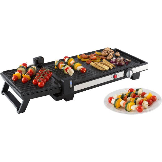 Tower 3in1 Grill & Griddle T14022 Health Grill in Black