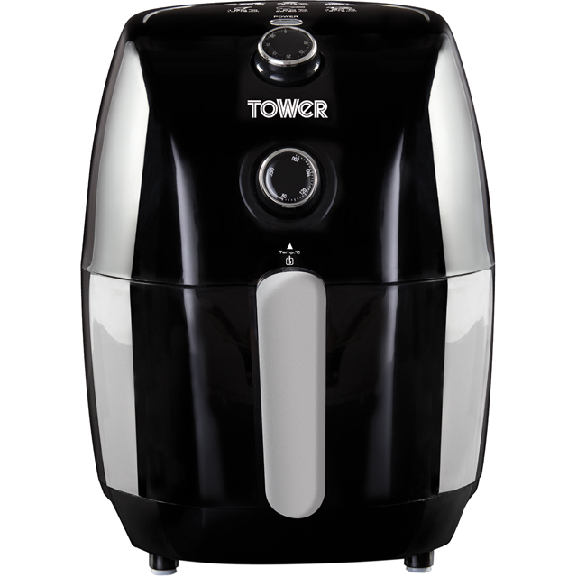 Tower 1.5L Manual Air Fryer T17025 Air Fryer - Black - T17025_BK - 1