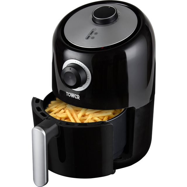 Tower T17026 Compact Air Fryer - Black - T17026_BK - 1