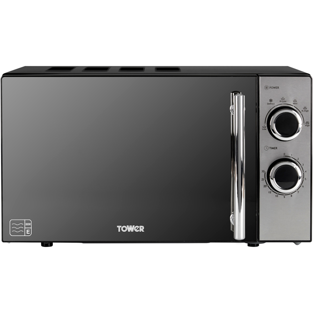 Tower T24015 20 Litre Microwave - Black - T24015_BK - 2