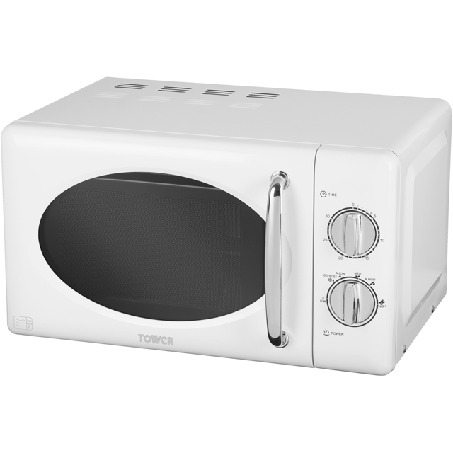 Tower T24017 20 Litre Microwave - Silver