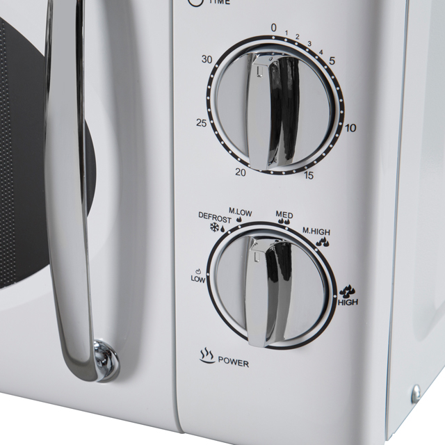 Tower T24017 20 Litre Microwave - White - T24017_SI - 3
