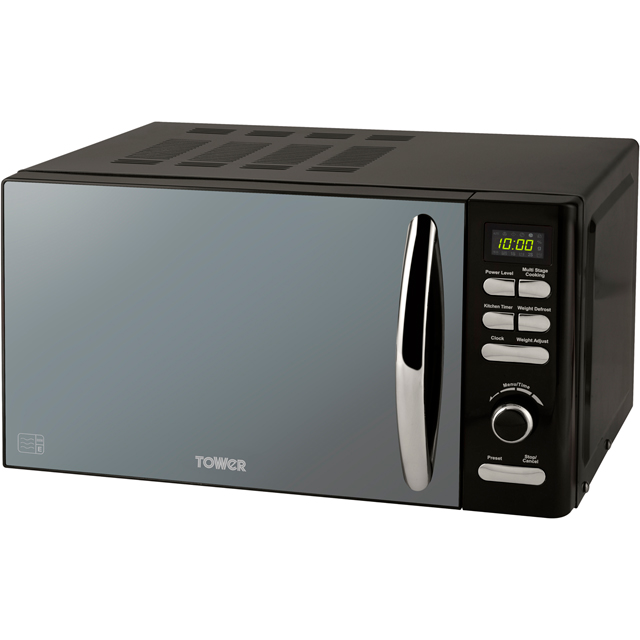 Tower T24019 20 Litre Microwave - Black
