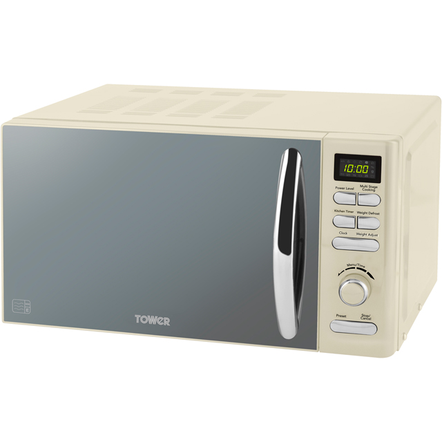 Tower T24019C 20 Litre Microwave - Cream