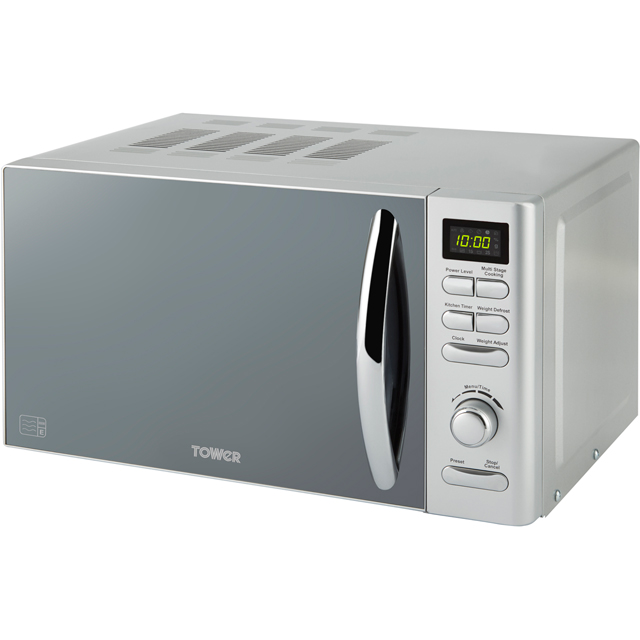 Tower T24019S 20 Litre Microwave - Silver