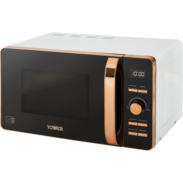 Tower T24021W 20 Litre Microwave - White