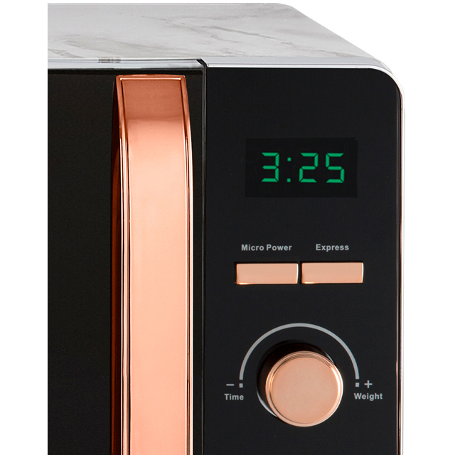 Tower T24021PS 20 Litre Microwave - Pink - T24021PS_PK - 4