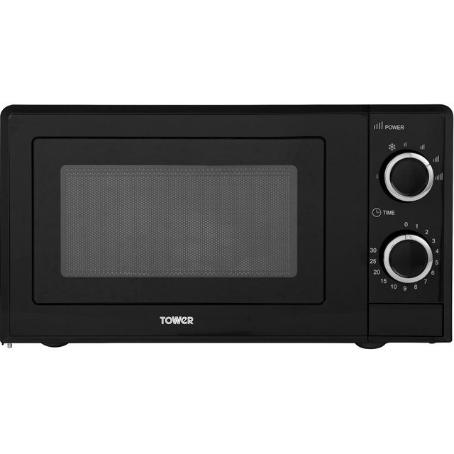 Tower T24029 17 Litre Microwave - Black