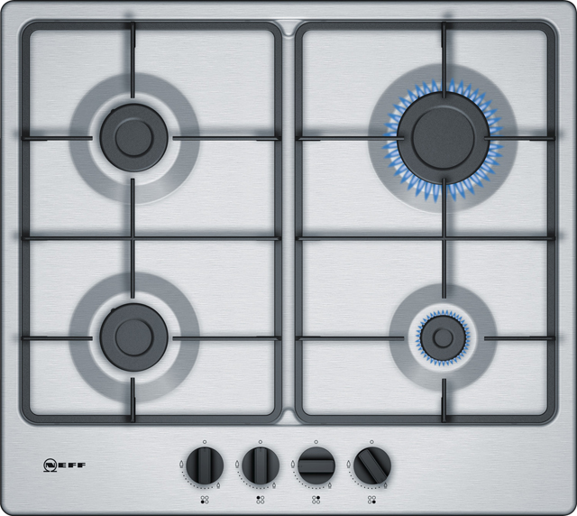NEFF T26BB46N0 Integrated Gas Hob in Stainless Steel