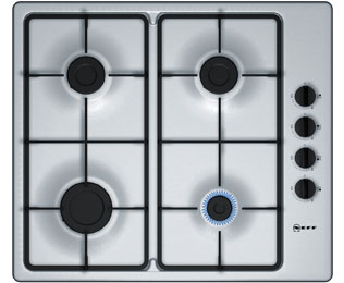 NEFF T26BR46N0 Integrated Gas Hob in Stainless Steel