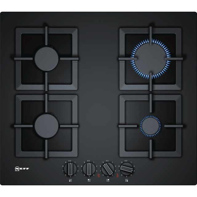 NEFF N70 T26CA42S0 Built In Gas Hob - Black - T26CA42S0_BK - 1