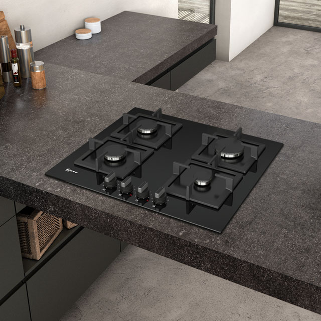 NEFF N70 T26CA42S0 Built In Gas Hob - Black - T26CA42S0_BK - 5