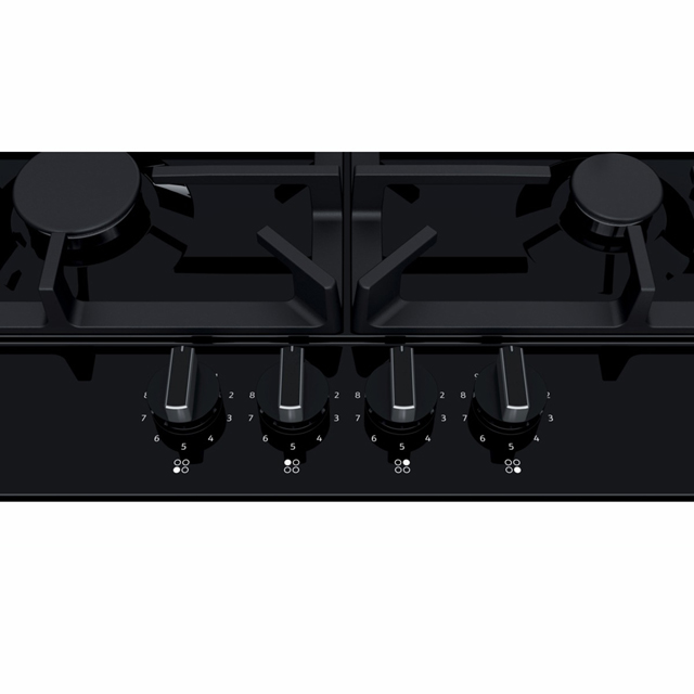 NEFF T26DS49S0 Built In Gas Hob - Black - T26DS49S0_BK - 3