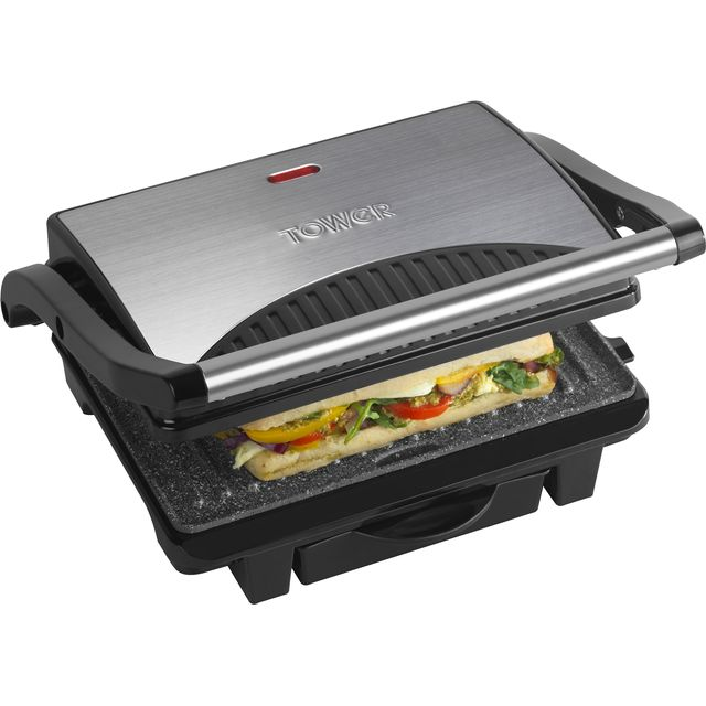 Tower Ceramic Health Grill & Griddle T27009 Health Grill in Black