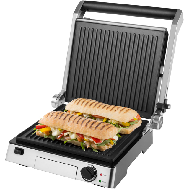 Tower Family 180 Degree T27012 Health Grill in Silver