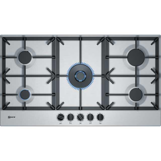 NEFF T29DS69N0 92cm Gas Hob - Stainless Steel