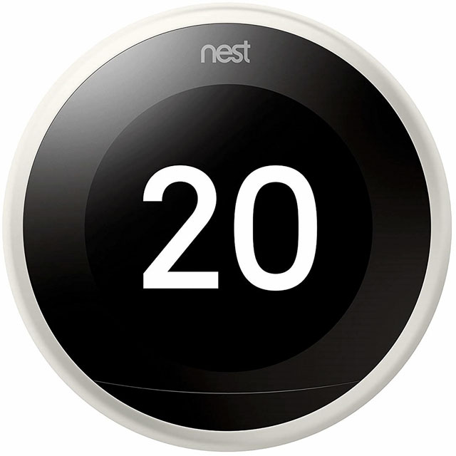 Nest Learning Smart Thermostat 3rd Gen - DIY Install - White