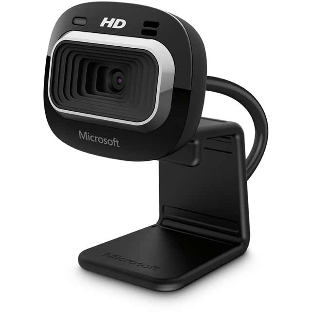 Microsoft LifeCam HD-3000 T3H-00012 Webcam in Black
