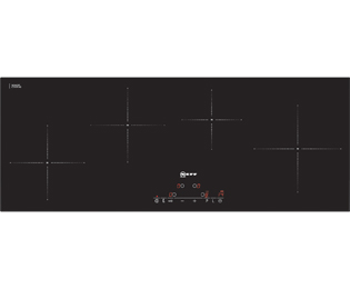 Neff T45D90X2 89cm Induction Hob - Black