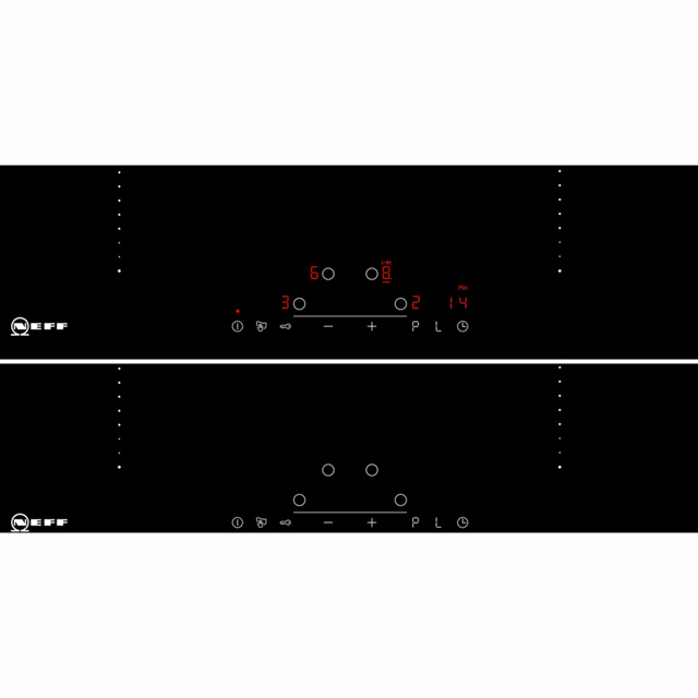 NEFF N50 T46PD40X0 Built In Induction Hob - Black - T46PD40X0_BK - 4