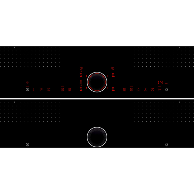 NEFF N90 T68TS6RN0 Built In Induction Hob - Black - T68TS6RN0_BK - 4